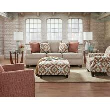 QT2600  Sofa, Loveseat, Chair & Ottoman - Quinn Twilight