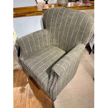 See Details - Layla Mocha Accent Chair