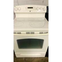 """Product Image - USED- GE® 30"""" Free-Standing Electric Convection Range with Warming Drawer- E30BIGLAS-U SERIAL #19"""