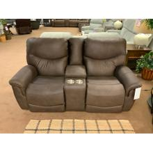 See Details - Stanton 936-85B Pwr rec. Loveseat with adjustable headrest and lumbar