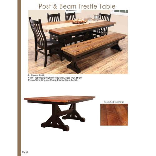 Post & Beam Table