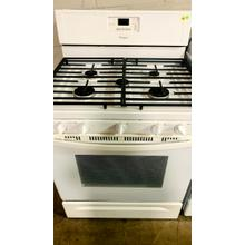 See Details - USED- White 30-Inch Whirlpool Gold® Self-Cleaning Freestanding Gas Range- G30WHSTV-U SERIAL #141** PROPANE GAS **