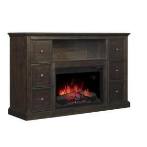 Classic Flame Buxton Media Mantle Fireplace