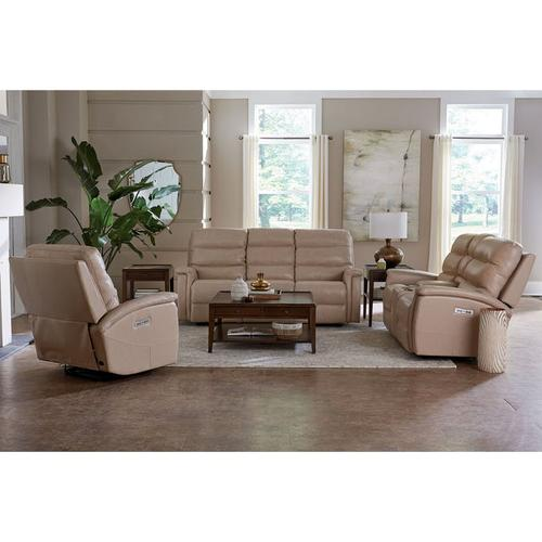 Regency Motion Sofa w/ Power in Driftwood Color