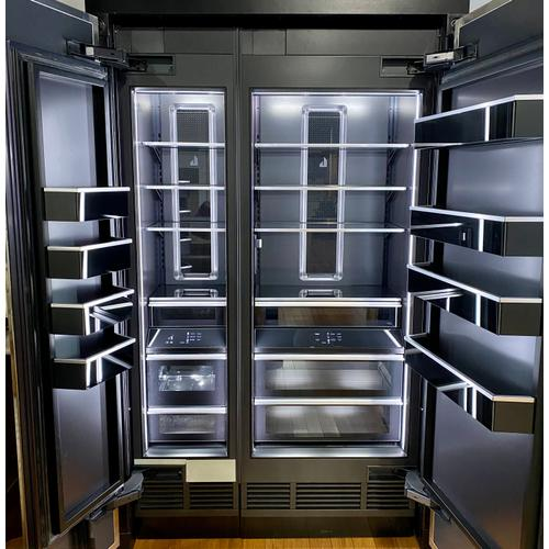 """30"""" Built-In Refrigerator Column (Right-Hand Door Swing) *Panel Ready - Sold with Stainless Steel Panels* /SOLD AS SET (JBZFL18IGX)"""