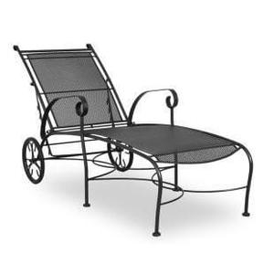 Alexandria Wrought Iron Chaise Lounge