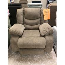 Plush chaise recliner