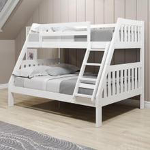 View Product - Twin/Full Mission Bunkbed - White