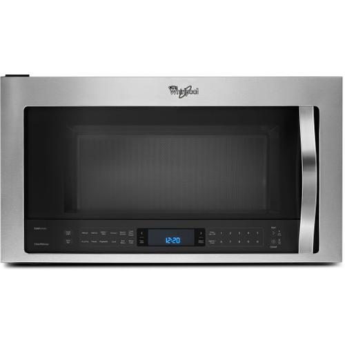 Whirlpool 1.9CF Fingerprint Resistant Stainless Steel Convection Over the Range Microwave