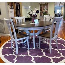 See Details - 5 Piece Dining Set - Table w/ 4 Chairs