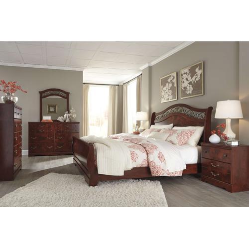 Ashley Furniture - Ashley Furniture B223 Delianna - Reddish Brown Bedroom set Houston Texas USA.