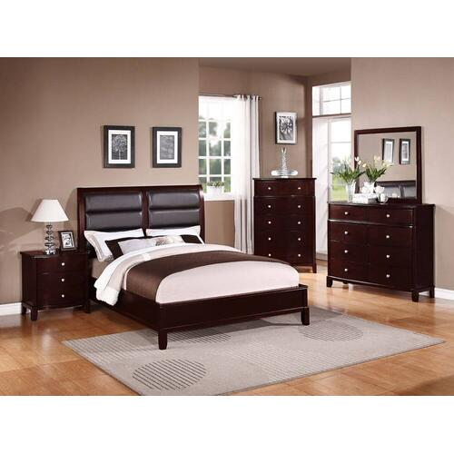 4 Pc Cal King Bed Set