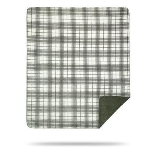 Denali Blankets - Tartan Plaid Sterling