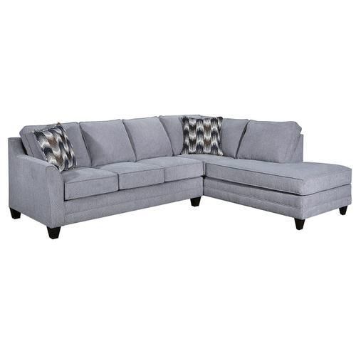 Lane Home Furnishings - Grey Sectional