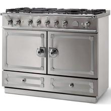Stainless Steel Cornufe 110 with Satin Chrome Accents