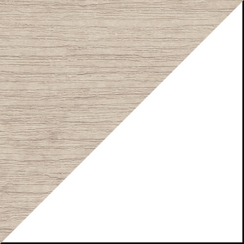 Plain Glider 5' Premium Birch and White