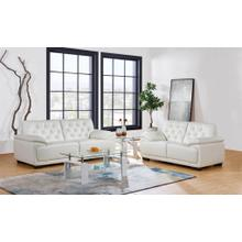 Loveseat Pluto White