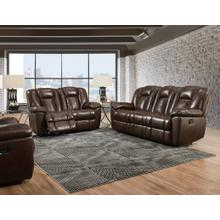Liza Chocolate Glider Recliner