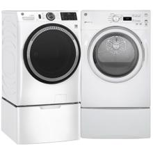 See Details - GE 4.8 cu. ft. Smart Front Load Washer & 7.0 cu. ft. Electric Dryer- Minor Case Imperfections