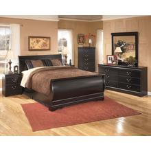 Huey Vineyard - Queen Sleigh Bed, Dresser, Mirror, & 1 X Nightstand