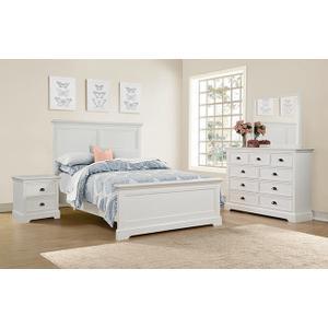 Winners Only Inc - Tamarack White 9-Drawer Dresser