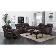 Monrose - 3 PC Reclining Set - Brown