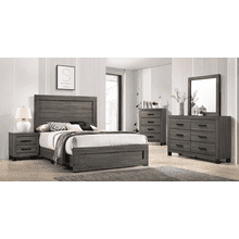 Special Buy 5 PC. Queen Set (Bed, Dresser, Mirror, Chest, Nightstand)