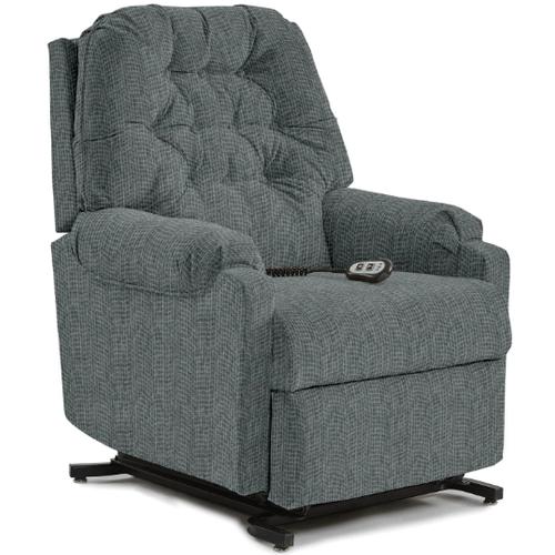 Best Home Furnishings - SONDRA LIFT RECLINER in Dove      (1AW21-19903B,45037)