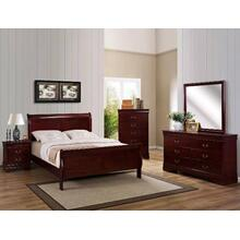 Queen Size Cherry Bedroom Group
