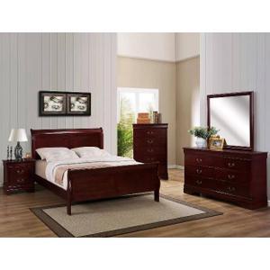 Queen Size Cherry Bedroom Group