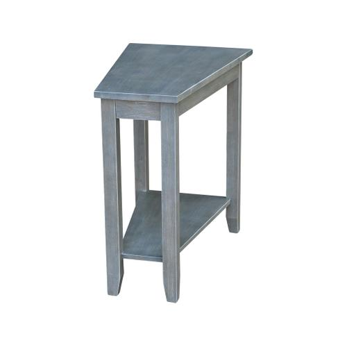 Keystone Accent Table in Heather Grey