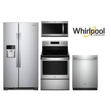 Whirlpool Fingerprint Resistant Stainless Side by Side