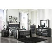 B364 Bedroom Set - Queen Bed, Nightstand, Dresser& Mirror, Chest of drawers Product Image