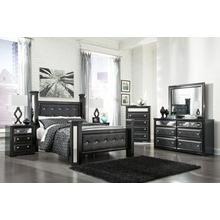See Details - B364 Bedroom Set - Queen Bed, Nightstand, Dresser& Mirror, Chest of drawers