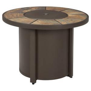 Signature Design By Ashley - Predmore Round Fire Pit Table