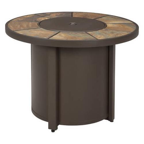 Predmore Round Fire Pit Table