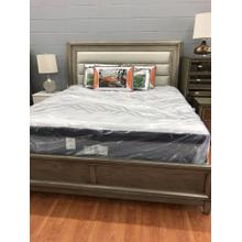 View Product - FOA King Bed, Golva Collection, Silver/Champagne Finish