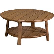 Deluxe Conversation Table Premium Antique Mahogany