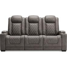 ASHLEY 9300315 Hyllmont Gray Power Reclining Sofa