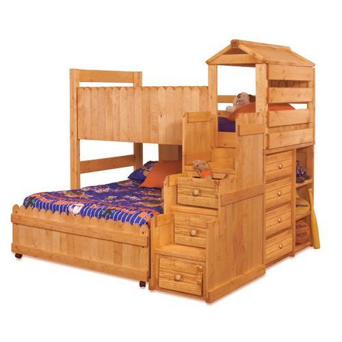 Trendwood - The Fort Twin/Full Bunk Bed