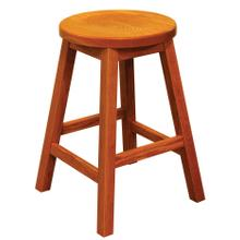 Albany Amish Custom Barstool / Counter Stool