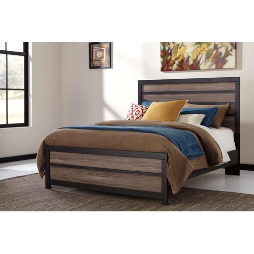 Ashley Furniture - Ashley Furniture B325 Harlinton - Warm Gray/Charcoal Bedroonm Set Houston Texas USA.