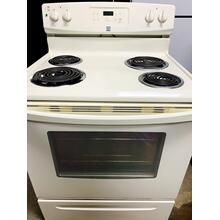 "USED- GE 30"" Free-Standing Electric Range - E30BISCOIL-U SERIAL #7"