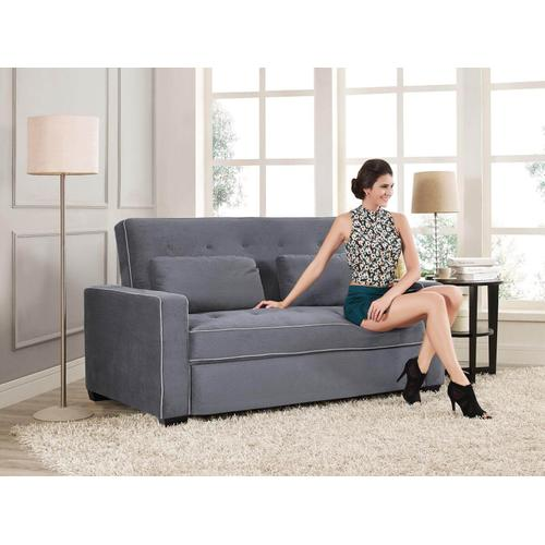 Marina Convertible Sofa Moon Grey