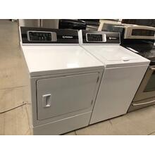 Used Speed Queen Top Load Washer and Electric Dryer Set