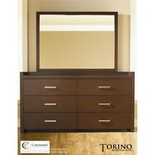 Torino Dresser & Mirror