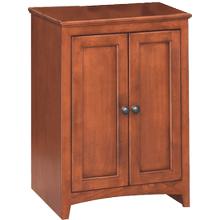 "24"" Wide Cabinet - Glazed Antique Cherry Finish"