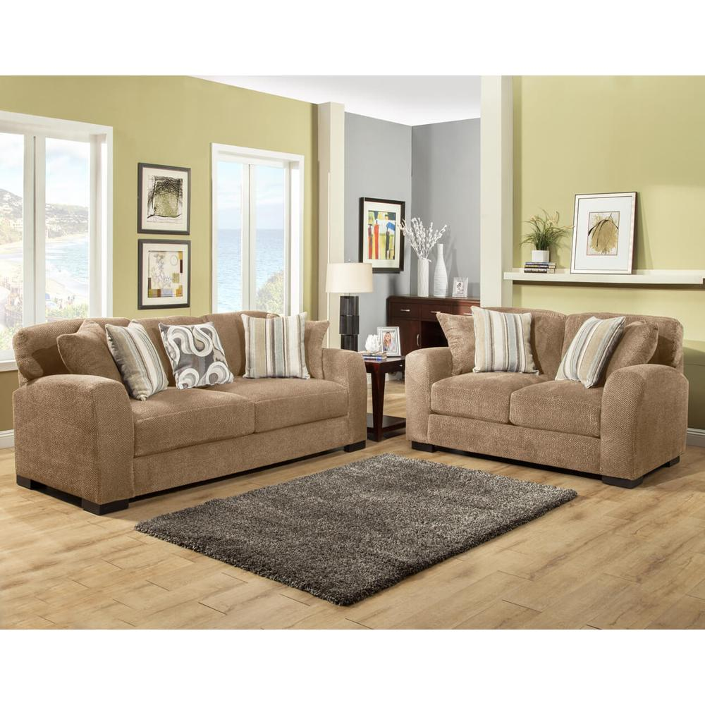 Wesley Sofa and Love Seat