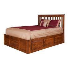See Details - Shaker Collection- Spindle Storage Bed