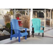 See Details - Royal Blue Adirondack Chairs